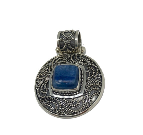 Kyanite Sterling Silver Pendant