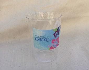 Sale 10% off Customizable Moana label for cups - Moana etiquetas para vasos personalizadas