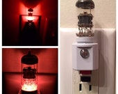12AX7 Style Vacuum Tube LED Night Light (7 Colors) Ham Radio TV Guitar Amp Steampunk