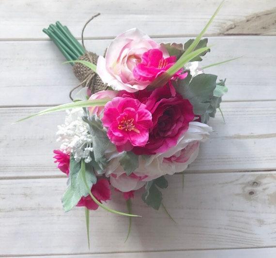 Rosa Rosen Hochzeit Blumenstrauss Brautstrauss Brautstrauss Etsy