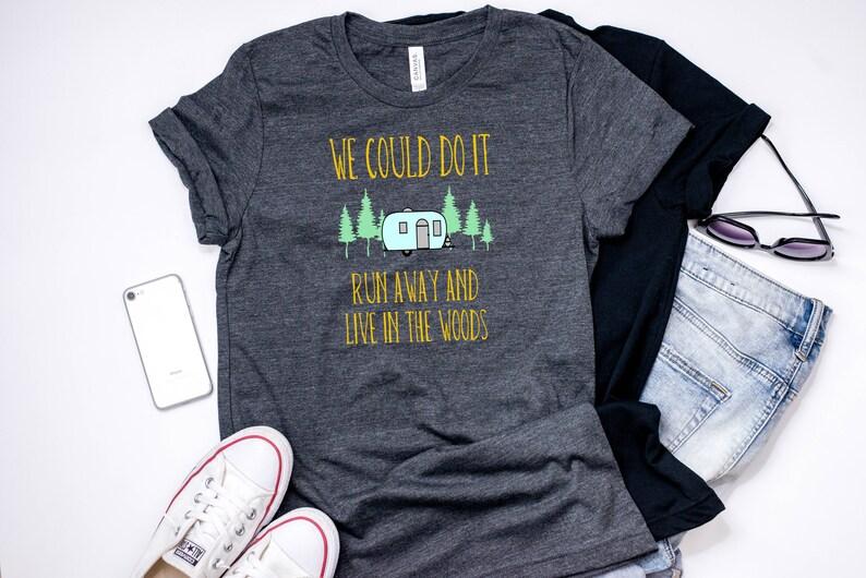 102c3e2d0121 Camping Shirt Wanderlust Shirt Happy Camper RV Travel image 0 ...