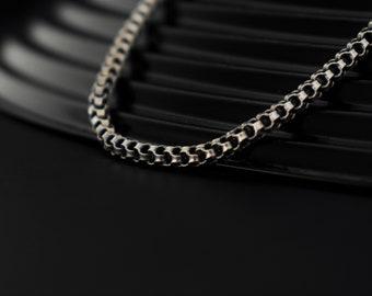 6df8017704ed3 Mens silver necklace | Etsy