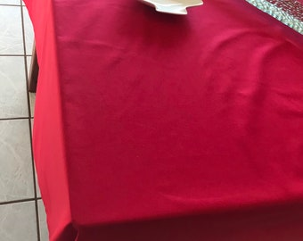 Christmas Tablecloth - Red