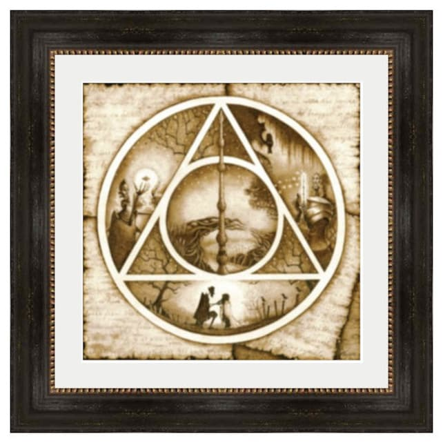 The Tale Of Three Brothers Art 14x14 Framed Print Harry Etsy