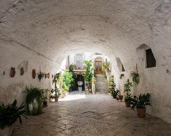 Shop Entrance Manfredonia Italy