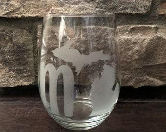 MI Stemless Wine Glass