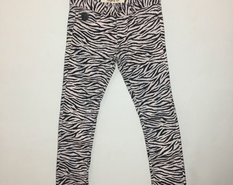 April 77 Joey Thunder Zebra print