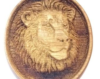 Lion Pendant /Worry stone/ Decoration