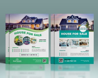 home selling flyer etsy