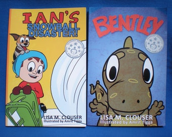 Ian & Bentley - Signed Children's Picture Books - Buy both books for 15% off the retail price! - Fiction - Ages 4 -7