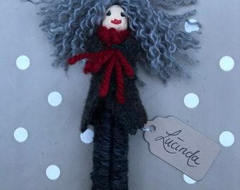 Handmade peg doll