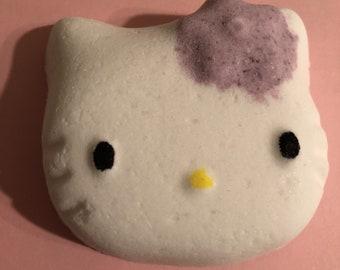 Hello Kitty inspired Hello Kitty shape Bath Bombs 2 pcs - Hello Kitty inspired Soaps - Hello Kitty inspired Lotion Bars