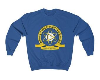 ff12d2fba Peter Parker's Midtown School of Science Unisex College Unisex Heavy Blend  Crewneck Sweatshirt