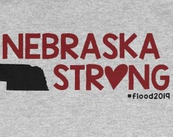 094ba899 Nebraska Strong 2019 T Shirt Unisex Heavy Cotton Tee