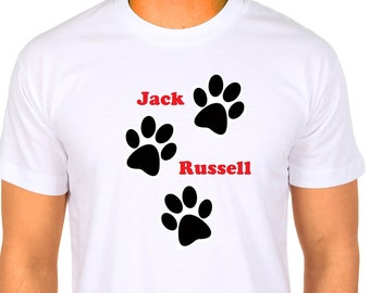 Jack Russell dog lover T-shirt.