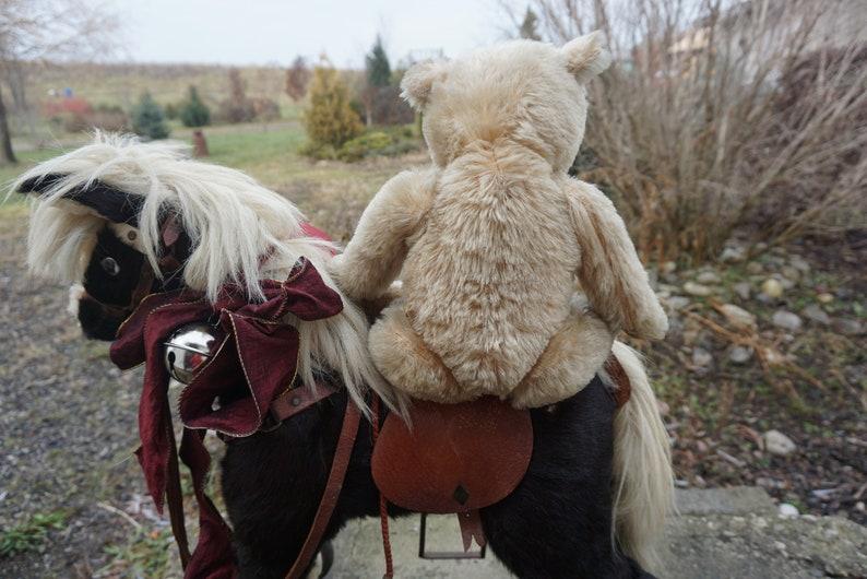 Vintage Hugmee Teddy Bear Gift for Him 1950-1960 Mohair Bear