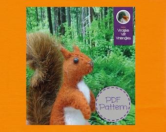 Squirrel PDF Pattern & Tutorial in English