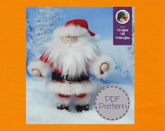 Santa Claus PDF Pattern & Tutorial in English