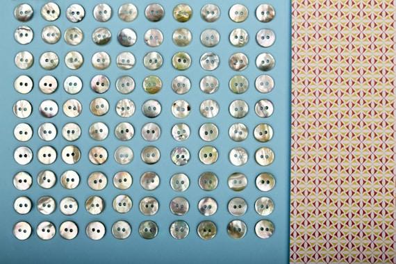 Polo Makamaga Madreperla Bottoni 8mm 5pz 10mm 15pz Camicia Maglia Uomo Donna Bambino