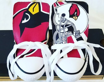 45a6847db3c3 Custom Arizona Cardinals Converse - V1