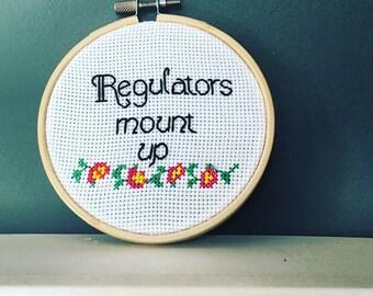 Regulators, mount up