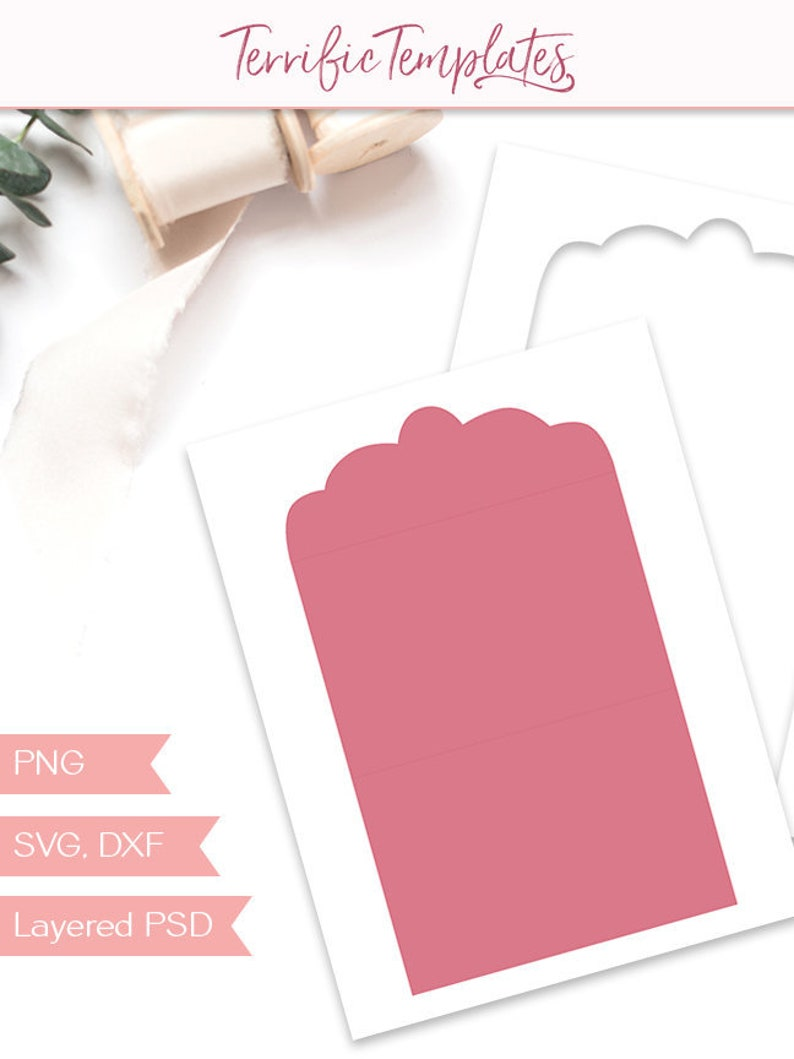 party printable TT178 SVG design your own for commercial use PSD Fold-over card template blank card 4x6 folding invitation PNG