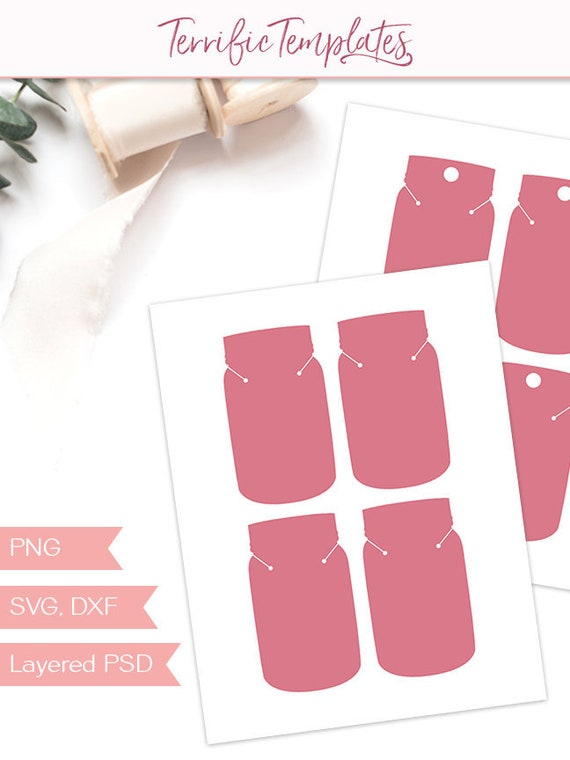 Necklace Display Template 4 Jewelry Hang Tag Packaging Jewelry Card Packaging Silhouette Or Cricut Cut File Psd Png Svg Jt16a