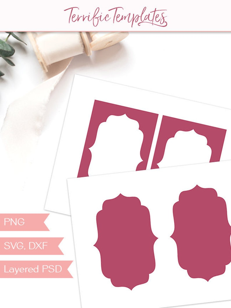 image about Printable Craft Templates named Card body template, 4x6\