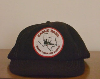 Eagle Pass Brush Country Huntin' Designer Award Vintage Hunting Hat