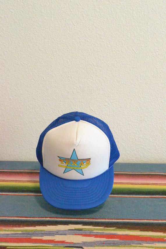 Vintage Texas The Lone Star State Trucker Hat