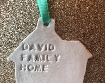Personalised family home decoration