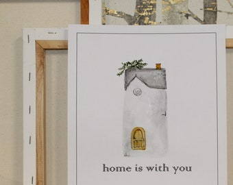 Home is with you print