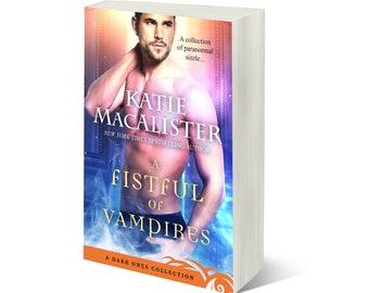 Signed paperback copy of A Fistful of Vampires anthology