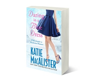 Personalized signed paperback copy of Daring in a Blue Dress