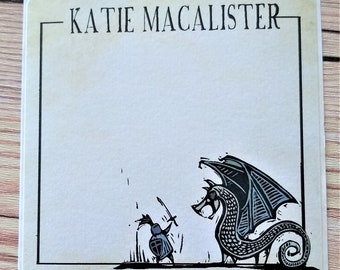 Personalized signed bookplate