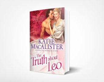 Personalized signed paperback copy of The Truth About Leo