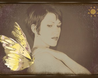 Winged Angel Photo Print