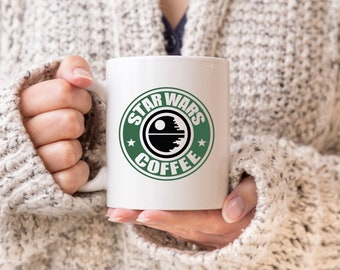 Star Wars Imperial AT-AT Walker Side Profile Blueprint Coffee Tea Drinking Mug