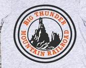 Disney SVG Big Thunder Mountain Railroad SVG Digital File Silhouette Cricut Cut file Disney Clipart Download Iron On Disney SVG