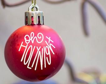 Oh Holy Night Ornament Etsy