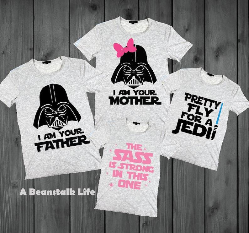 Disney SVG Star Wars Family Shirts Iron On Cricut DXF Printable Digital  Shirt Cut File Silhouette Star Wars BUNDLE 4 Designs