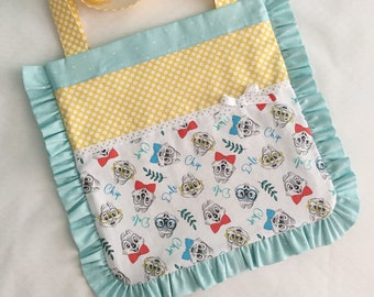 Chip and Dale Ruffle Tote