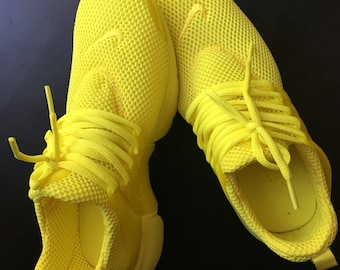 Yellow Nike Presto Custom