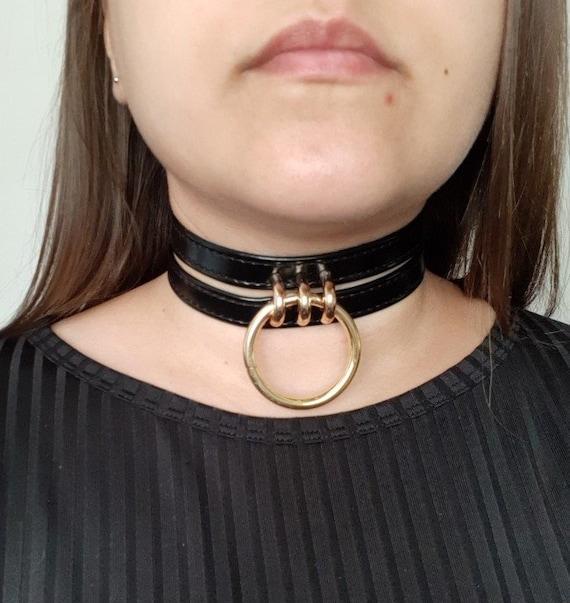 choker slave collar Caged choker choker leather bdsm choker slave choker slave collar kitten play collar choker collar bdsmcollar