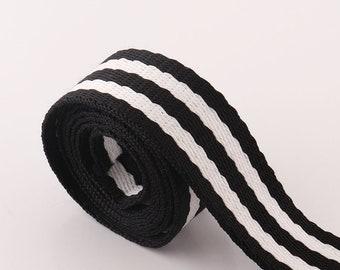Light Gray Webbing 5 yards*25mm Pure color Webbing Fabric belt Canvas Webbing Key Fobs Strap Webbing Bag strap