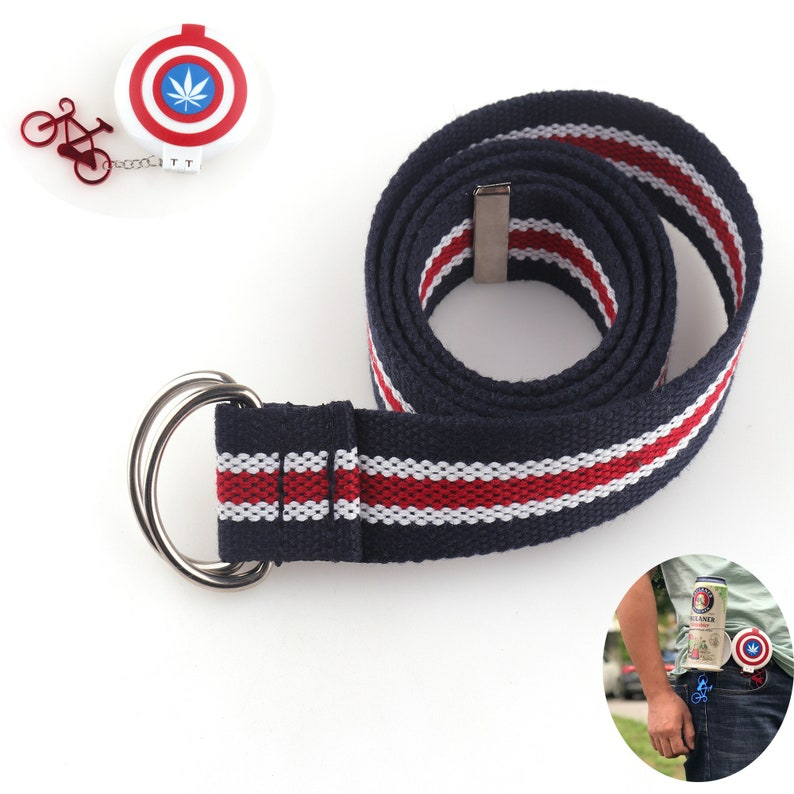 Webbing Belts 30mm Adjustable Belt Unisex Canvas Webbing Belt with Metal Tips Kids Belts School Uniform Belt Holiday gift