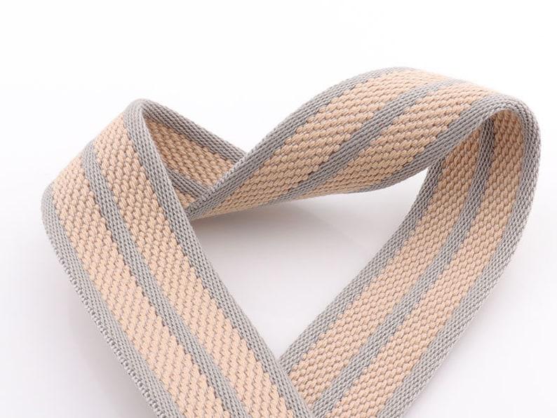 Cotton Webbing Solid color Webbing Fabric belt Canvas Webbing Key Fobs Strap Webbing Bag strap Grass Green Webbing 1.5 38mm