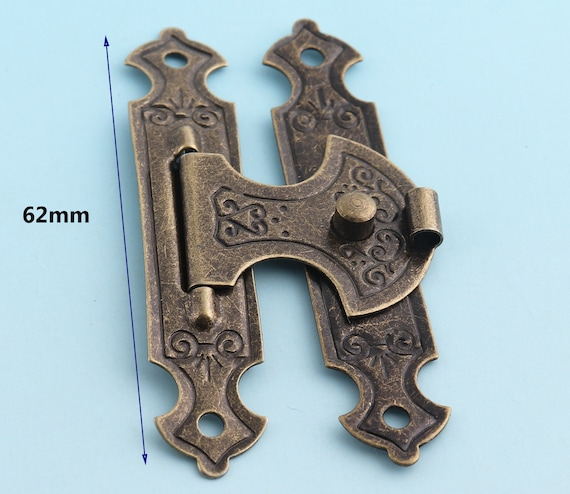 Rectangular Latch Snap Catch Brass Box Hardware Accessories Craft