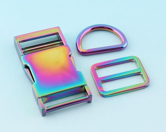 2//10Pcs Plastic Side Quick Release Buckles For Webbing Bag Strap Clips BL