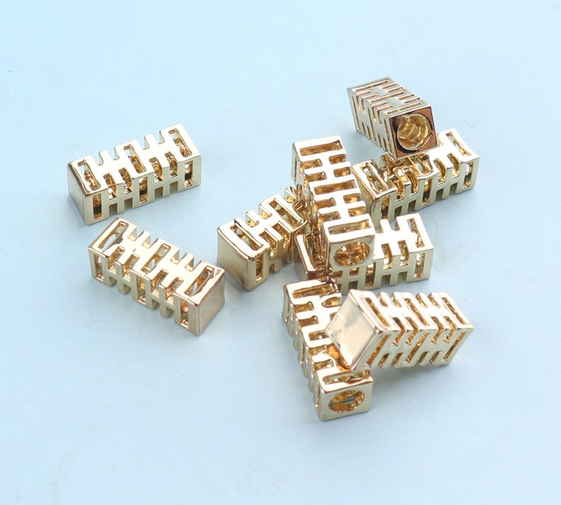 Shoelace Tips 6-10pcs 3mm Light Gold Shoelace Bullets Metal Aglets Tube Clasps Rope Cord Ends Cord Finish Ends Metal End Tips End Stopper